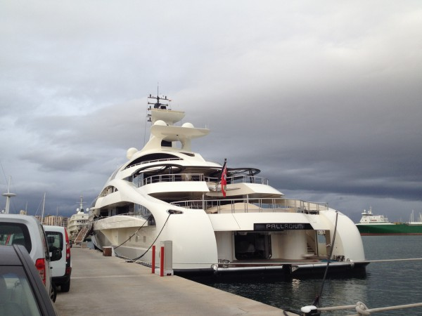 M/Y PALLADIUM Club de Mar